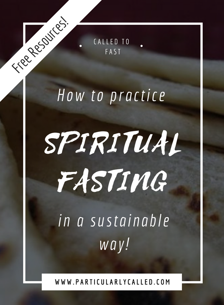 How to Practice Spiritual Fasting in a Sustainable Way