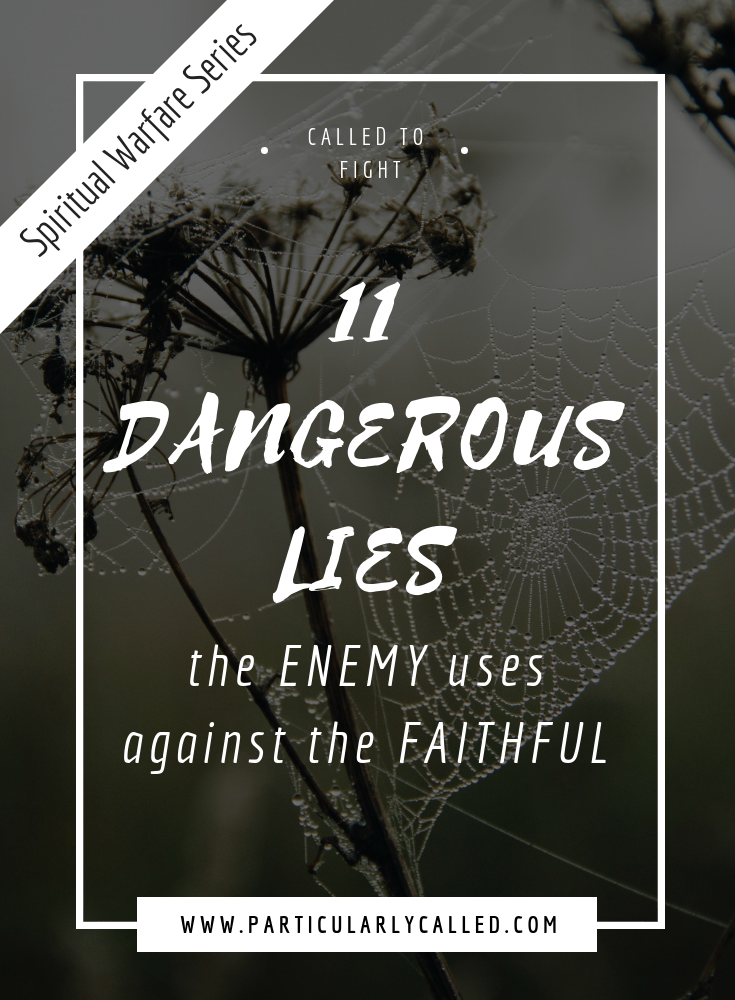11 Dangerous Lies of the Enemy that attack the Faithful Soul